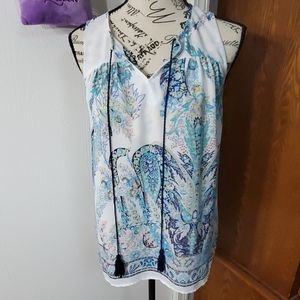 Women's sleeveless blouse (S)